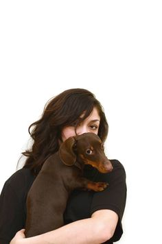 Kyle Gabouer Photo #girl #photography #portrait #hot #dachshund #babe #wiener