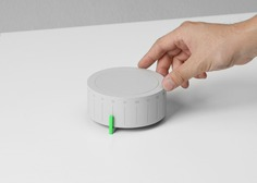 Skeuomorphism design IRL - Wheel Digital Radio