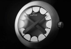 Collate #ikepod #design #black #watch