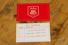 Mag North Brand Identity #mag #north #business #branding #adventure #emblem #travel #map #sports #snowboard #logo #compass #cards