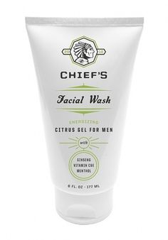 Chiefs Energizing Face Wash : Lovely Package . Curating the very best packaging design.