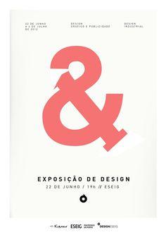 Exposição 1 & 2 on the Behance Network #eseig #design #ribeiro #gilberto #exposio