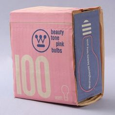 WANKEN - The Blog of Shelby White » Graphic Design of Mid-Century #mid century #vintage #packaging #light bulb
