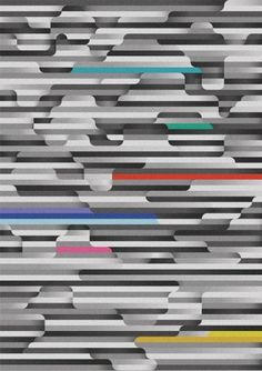 Jack Featherstone | The Strange Attractor #abstract #stripes #jack #featherstone