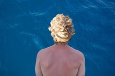Patmos #blue #photography #blonde #sea
