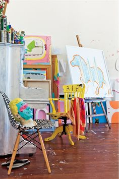 miss-design.com-sydney-interior-5 #interior #workplace #design #decor #studio #artist
