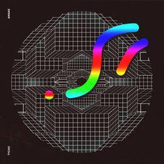 Tycho - Awake artwork by Quentin Deronzier #artwork #albumcover #albumart #cover #tycho #music #symmetry #geometrical