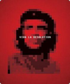 viva la resolution #design #graphic #poster