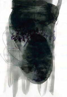 Emilio Nanni- nuclei 2013 #nero #arte #numeri #pittura #emilionanni