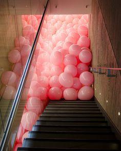 Tumblr #interior #pink #balloons