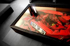 Crashed Ferrari Table by Charly Molinelli | 123 Inspiration #table #french