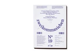 zweikommasieben Magazin #19 – Präsens Editionen