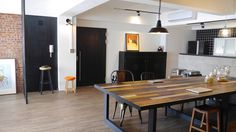 「專訪」溫馨工業風老宅 - 三重 Andy 的家 - DECOmyplace #wood #table