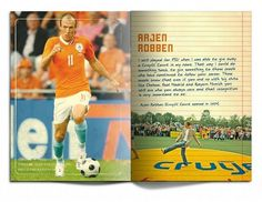 Ontwerpburo Idee&Vorm. Merk, identiteit, grafisch en concept. #holland #cruyff #africa #book #south #cruijff #football #dutch