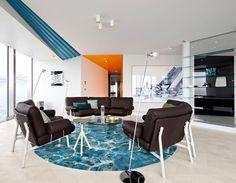 Luxurious One Bedroom Loft Style Space by COORDINATION - #decor, #interior, #homedecor, home decor, interior design