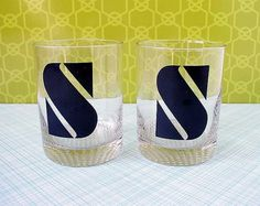 Retro Patterns and Type from the Kitsch Cafe Shop | Design Blog | Design.org #glasses #typography
