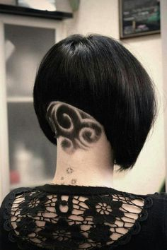 Brave and courageous woman their short black hair page can supplement with extra clipped parts on whom will elicit different patterns. Hair