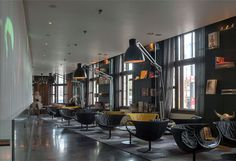 Dynamic Space for Contemporary Art – Art'otel Amsterdam - #restaurant, restaurant, #hotel, hotel