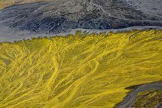 Andre → Iceland. River. → Fringe #erosion #photography #river #iceland