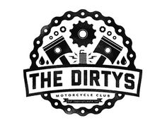 Dribbble - The Dirtys - Motorcycle Club by Justin Pervorse #crest
