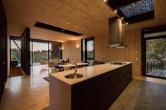 kitchen, Lake Rapel, Chile / hsu-rudolphy