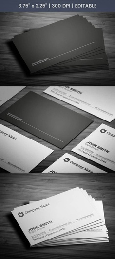 Free Consultant Business Card Template