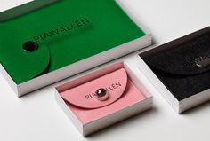 Pia Wallén by The Studio #box #packaging