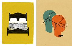 The Best Part - A Daily Art and Design Blog: The Heads of State #of #illustration #state #heads