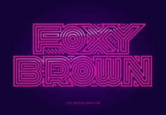 Foxy Brown #hiphop #foxybrown #pink #lines #nyc
