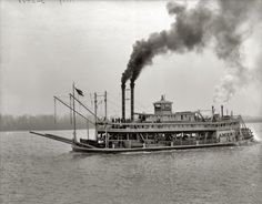 America: 1900 | Shorpy Historic Photo Archive #boat