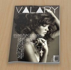 Valary Cover #magazine