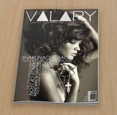 Valary Cover #magazine
