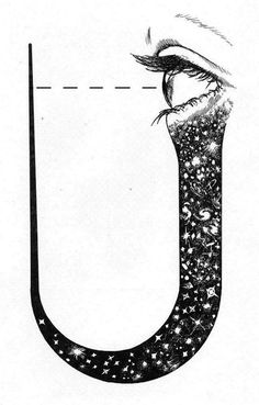 Symbolic representation of theparticipatory universe #universe #diagram #eye #illustration #poster #typography