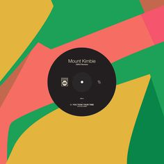 Mount Kimbie CSFLY Remixes Leif Podhajský #simple #album #color