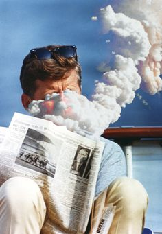 ST C283 48 63 #smoke #jfk #retro #exposure #double