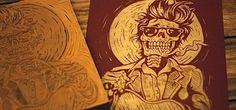 Tattoo Style Illustrations by Strawcastle | Abduzeedo | Graphic Design Inspiration and Photoshop Tutorials