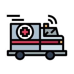 See more icon inspiration related to car, transportation, hospital, automobile, emergency, ambulance, medical, vehicle and transport on Flaticon.