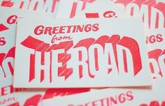 Q & A with Jennifer Heuer | The Casual Optimist #postcard #bold #typography