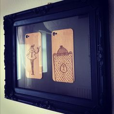 Wood iPhone Covers - Part of our new Creative Series #covers #wood #iphone #craft #art