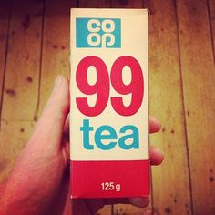 Coop Tea Packaging #coop #vintage #packaging