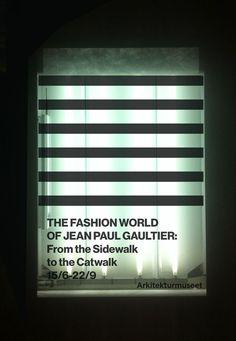 Arkitekturmuseet- Jean Paul Gaultier by Kristofer Gullard Lindgren