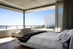 Sophisticated and Elegant Pearl Bay Residence comfortable modern classic bedroom decor