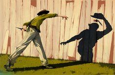 Jonathan Bartlett #illustration #shadow