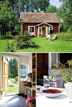 a lovely cottage in småland, sweden | the style files #house #country #relaxing