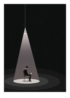 BAFTA 2011 Program Cover - Social Network. #illustration