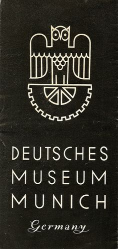 deutsches museum #white #branding #museum #& #black