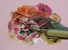Happy Ending, 2009 #happy #ending #mathew #collage #cusik #flowers