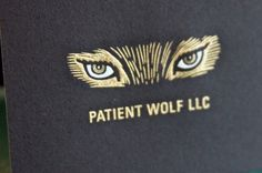 Patient Wolf LLC | The Beauty of Engraving #gold #engraving #wolf