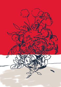 #art #flowers #michaelconstantine