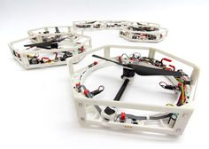 Researchers develop 3D-printed drones capable of self-assembly #printer #3d